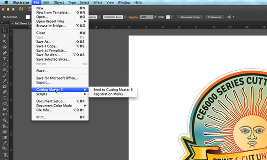 Cutting Master 3 Illustrator Plugin